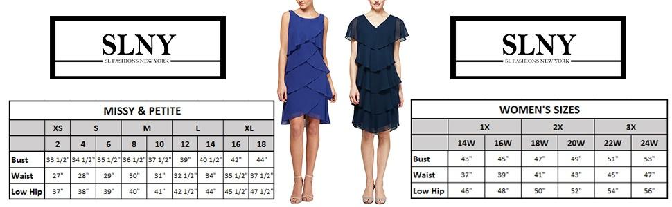 SL Fashions Short Tier Dress