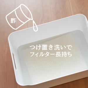 Vornado ボルネード 気化式加湿器 サーキュレーター つけ置き洗い 浸け置き洗い フィルター長持ち 薄い酢水 クエン酸水 カルキ チリ 給水力復活