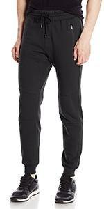 Brooklyn Athletics Men's Twill Jogger Pants Soft Stretch