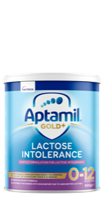 Aptamil Gold+ Baby Infant Formula Lactose Intolerance From Birth to 12 Months