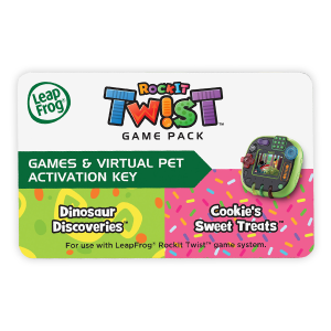 LeapFrog RockIt Twist Game System Green Handheld Learning Interactive VTech CHOP