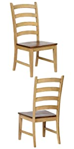 set of 2,dining chairs,side chairs,solid wood,clean lines,mission,chairs for heavy people