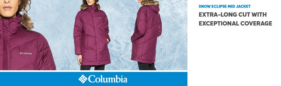 527ac230ddd Columbia Women s Snow Eclipse Mid Jacket