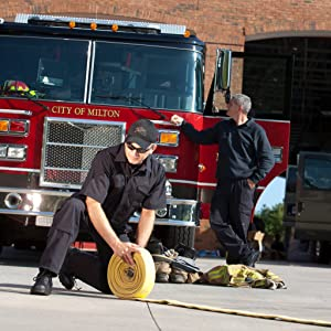Two men of a fire squad
