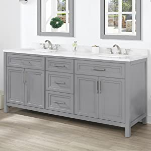 72 inches bathroom vanity