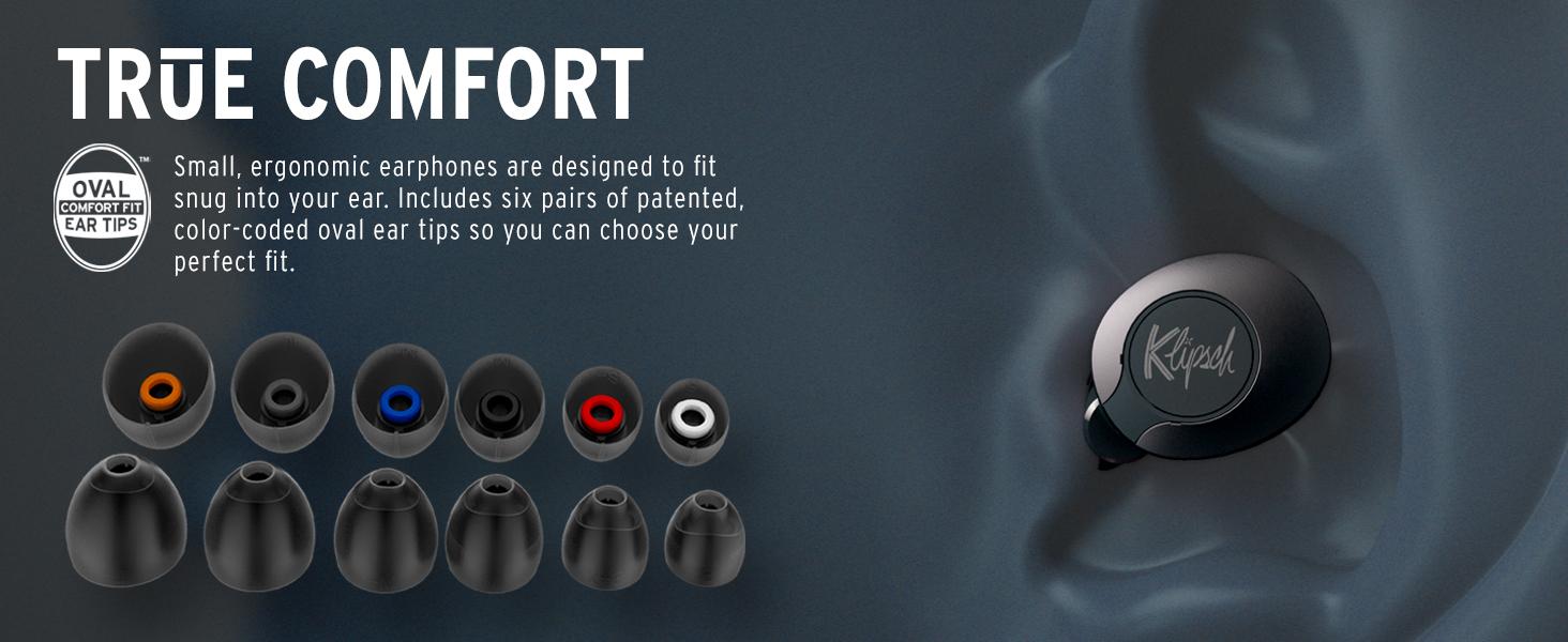 Klipsch, T5 II True Wireless earphones, wireless earbuds, Klipsch wireless earphones