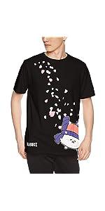 おしゅしだよ カブキ 桜 Tシャツ