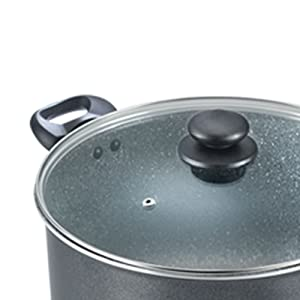 Prestige Omega Deluxe Granite Sauce Pan with Lid, 240mm SPN-FOR1