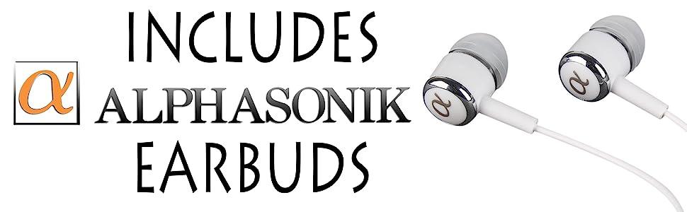 Alphasonik Earbuds