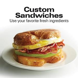 custom sandwich maker