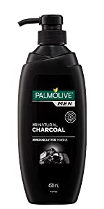 Men Odour Eliminating Body Wash With Natural Charcoal