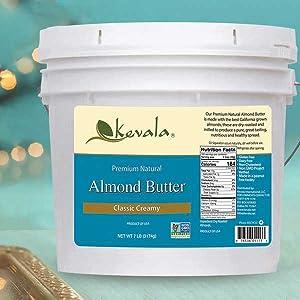 Almond Butter,Nut Butter, Nut Spread,All natural nut butter, Almond Batter,almond spread,Creamy