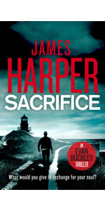 Sacrifice by James Harper, Evan Buckley, private detective mystery