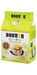 ドトールコーヒー ドリップパックやさしい香りのカフェインレス 8P×6袋