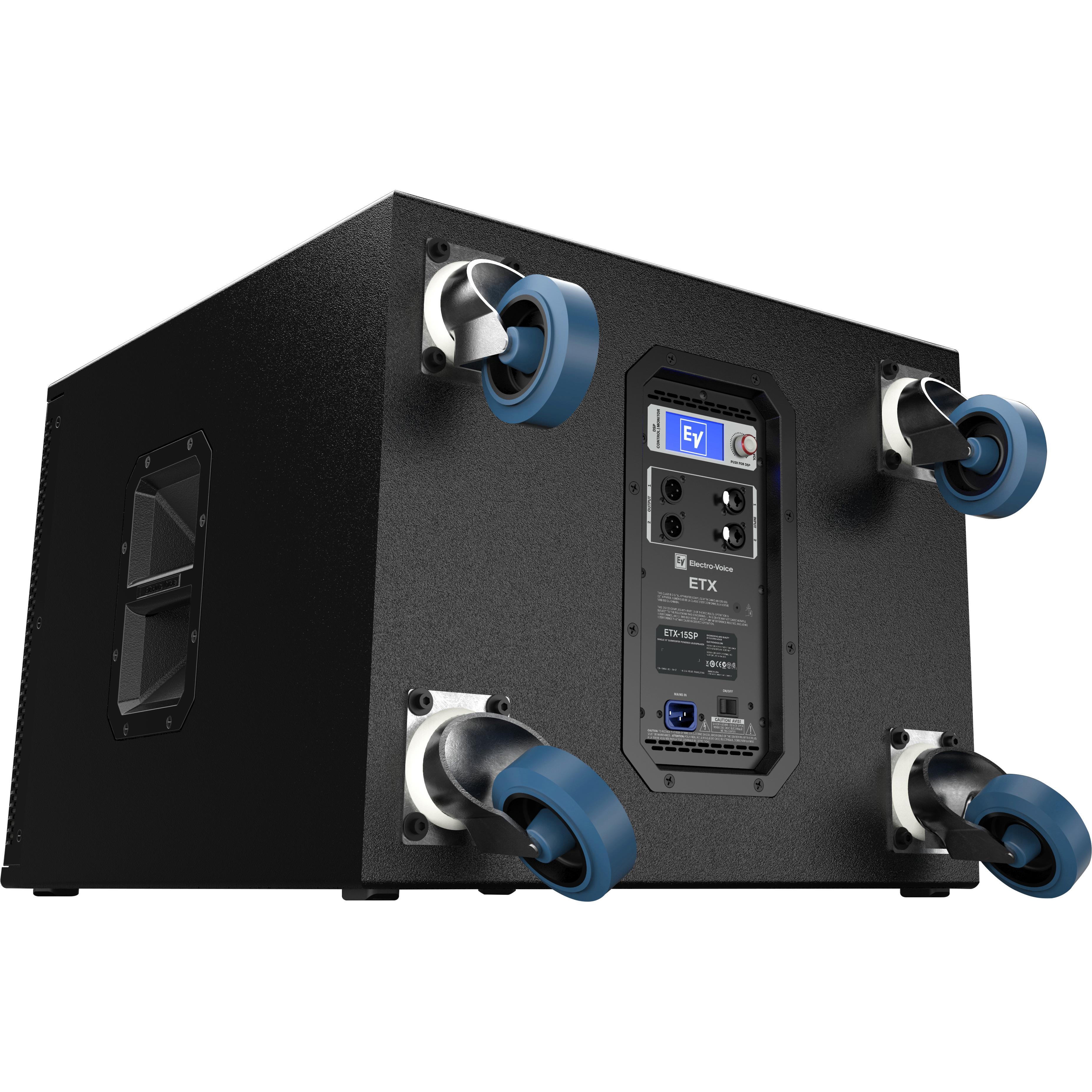 electro voice etx 15sp 15 1800w powered subwoofer musical instruments. Black Bedroom Furniture Sets. Home Design Ideas