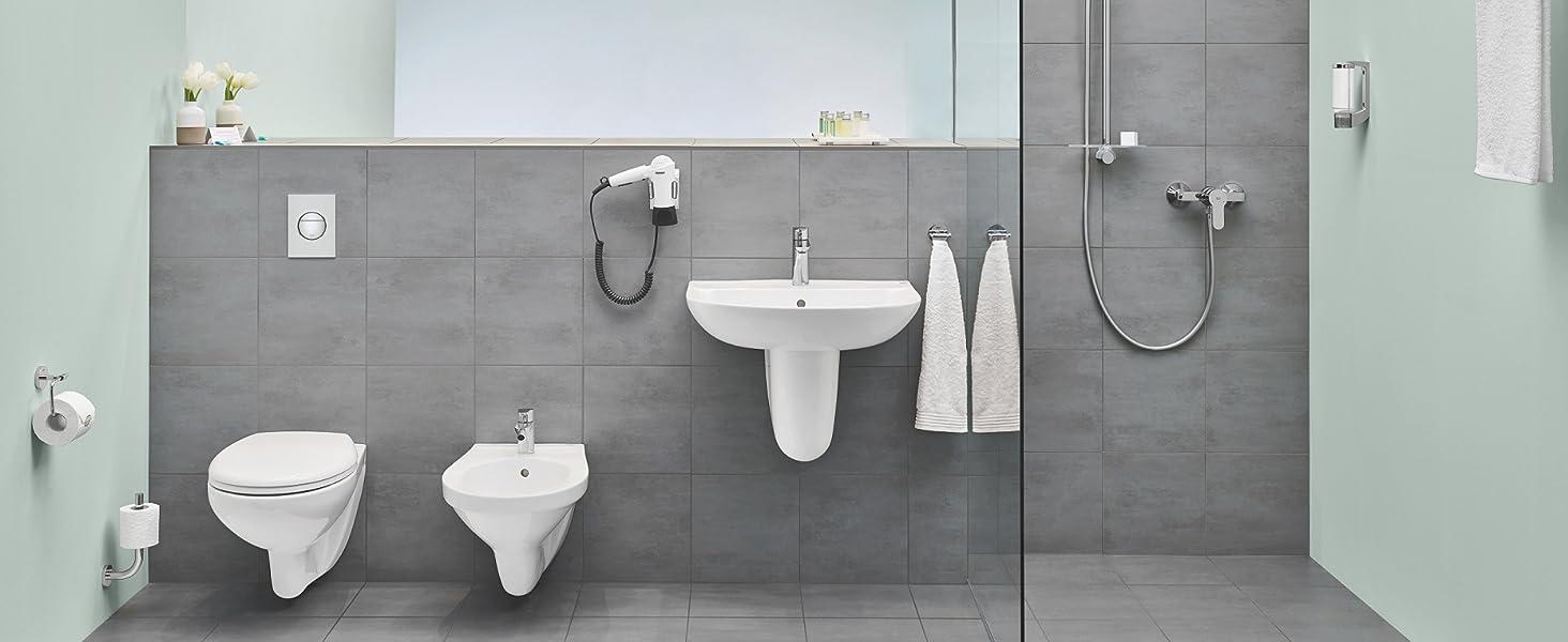 GROHE Bau Keramik | Bad Keramik - WC | Tiefspül, Spülrandlos ...