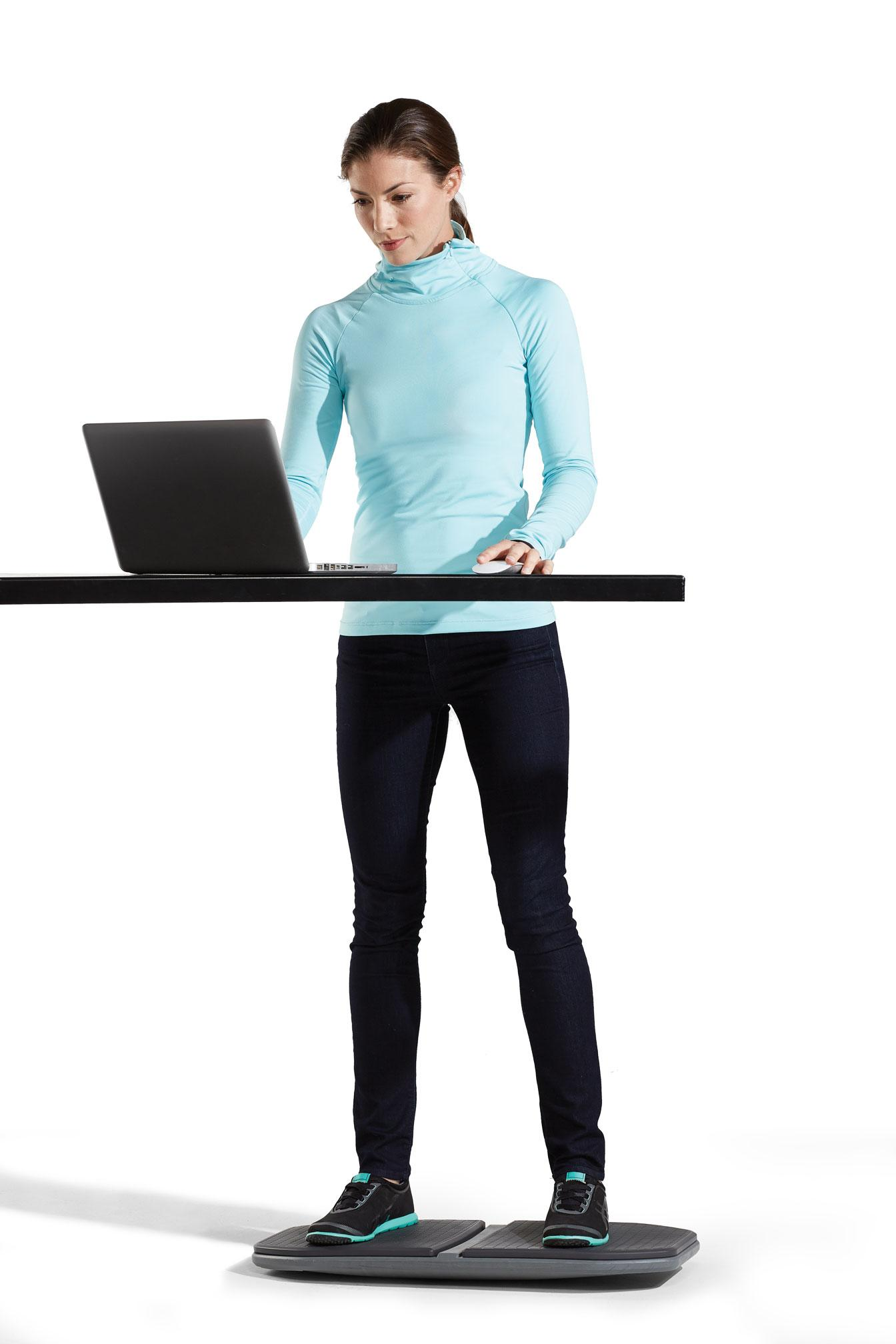 Amazon Com Gaiam Evolve Balance Board For Standing Desk
