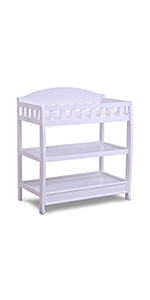 delta children changing table baby essentials infant furniture nursery
