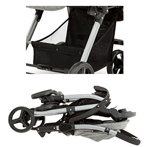 jeep stroller quick compact fold storage