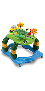 Amazon.com: Delta Children Lil Fun Andador., Azul: Baby