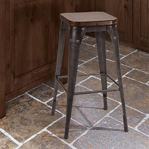leather backless counter stools hillsdale montello backless swivel counter 6884