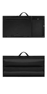 ergo pro, lap desk, lapgear, laptop, tablet, ergonomic, elevation, mouse pad, phone slot, stylus