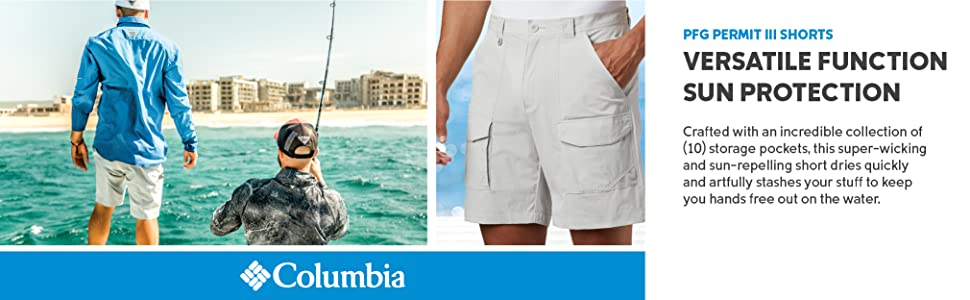 Columbia Men's Permit III Shorts