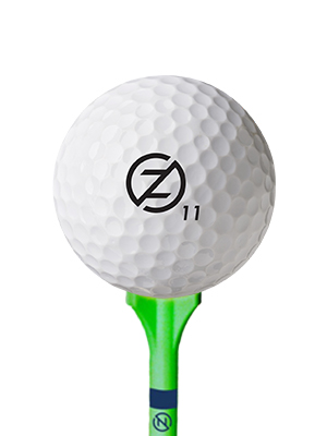 ball+tee ball tee spectra zero friction golf performance matte distance dimple pattern launch white