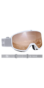 Salomon Xview Access Gafas de esquí Unisex, Tiempo nuboso ...