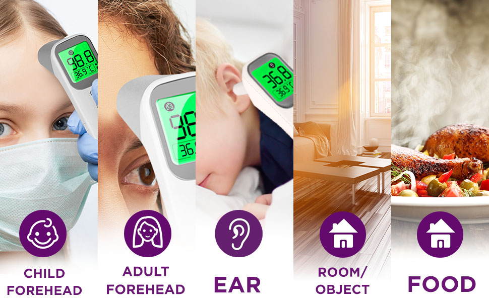 no contact fever thermometer