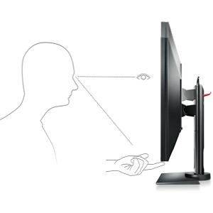 personalizar ajustes ajustables ajustables hasta abajo inclinación giratoria monitor benq zowie