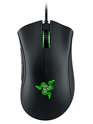 Razer DeathAdder Essential, Esports, Optical Sensor, Gaming Mouse, Ergonomic Format