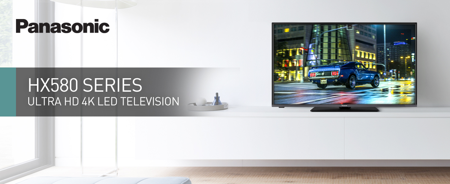 HX580 Series Ultra HDR 4K LED Television
