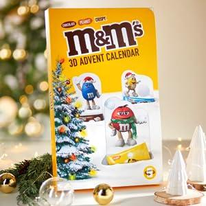 M&M'S; Weihnachten; Adventskalender