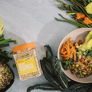 Organic Quinoa BetterBody Foods Gluten Free
