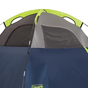 Set Up Quickly & Amazon.com : Coleman Sundome 3-Person Dome Tent Green with Seam ...