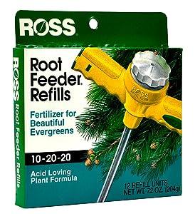 Ross Root Feeder Refill drought water conservation fertilizer evergreen azalea rhododendron