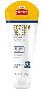 O'Keeffe's Eczema Relief Skin Protectant Body Cream, 8 oz