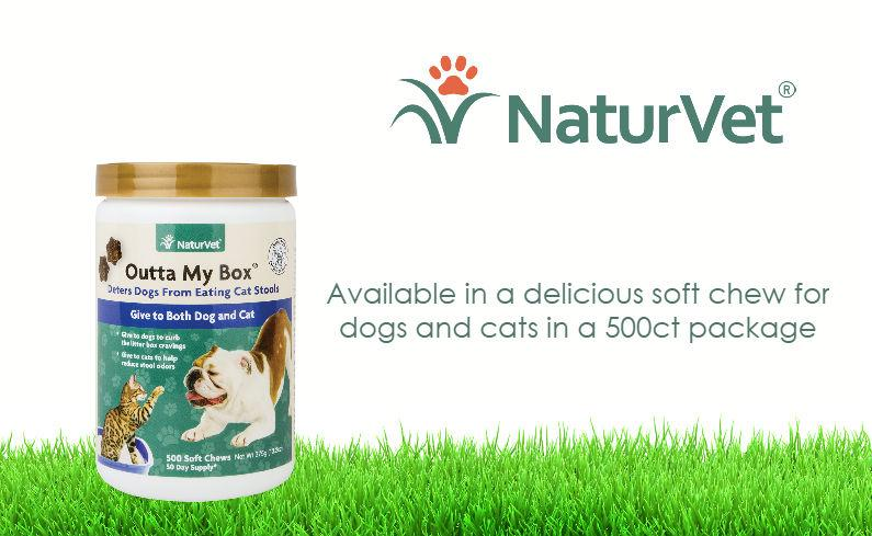 Amazon Com Naturvet Outta My Box Cat Stool Eating