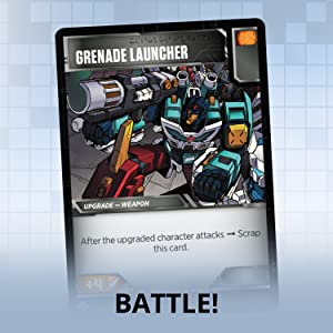 Grenade Launcher, action card