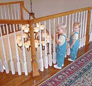Amazon Com Kidkusion Kid Safe Banister Guard 15ft Clear