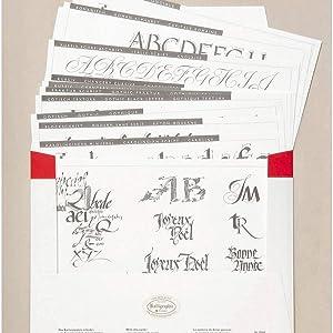 Brause 300046B Packung mit 3 Federn Citofein ideal f/ür Kursivschrift und Druckschrift 1 Pack 3 mm