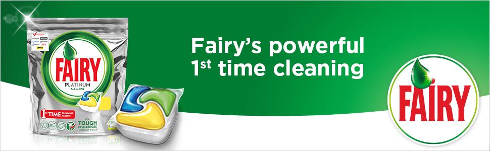 Fairy Platinum Dishwasher Capsules