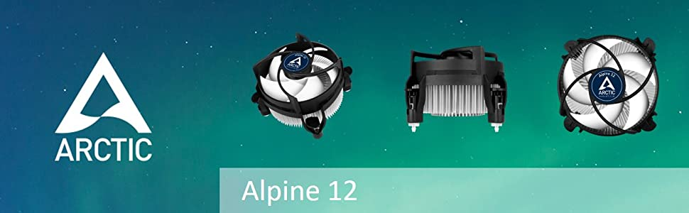 Arctic Alpine 12 cpu cooler