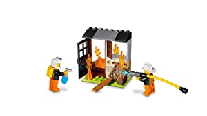 LEGO Juniors Fire Patrol Characters and Accessories