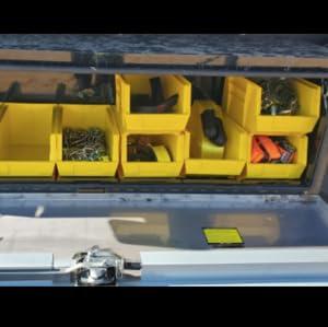 parts storage truck storage