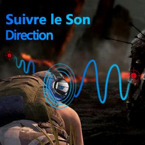 seguire la direzione del suono