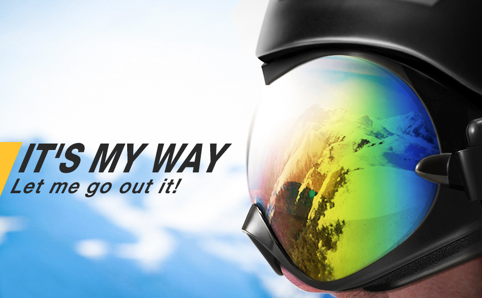 Masque De Snowboard Uv400 Ski Protection Lunette Gonex Neige hQrtsd