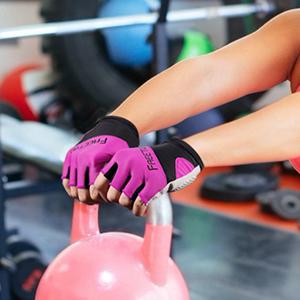 Gants de Musculation Gants Sport Antid/érapant et R/ésistant /à lusure /& Antichoc et Respirant Id/éal pour Entra/înements Le Gym etc. FREETOO Gants de Fitness Femme avec SBR Coussins