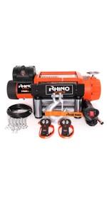 câble d'acier pour winch Rhino